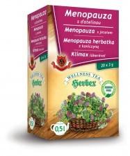 HERBEX Herbata Menopauza fix Herbex 20x3g herbata MENOPAUZA