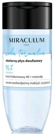 MIRACULUM MIRACULUM micelarny płyn dwufazowy 125ml 53499-uniw