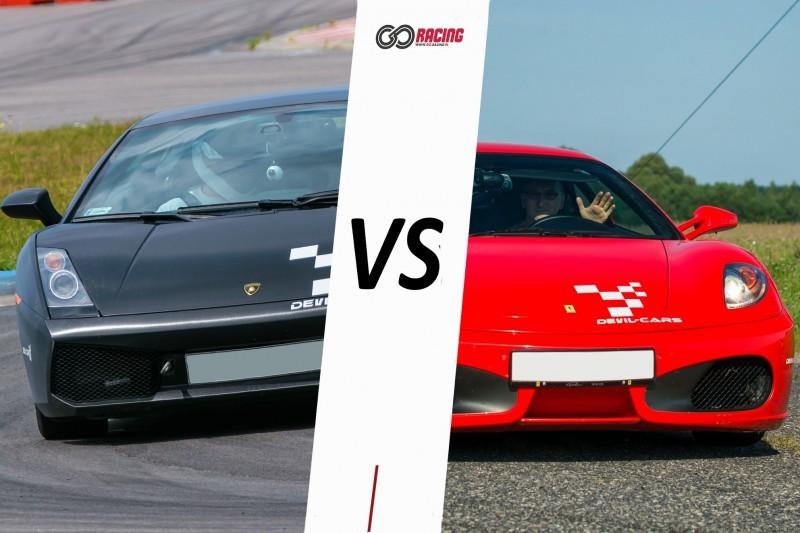 go racing Lamborghini Gallardo vs Audi R8 : Ilość okrążeń - 8, Tor - Tor Kielce, Usiądziesz jako - Kierowca