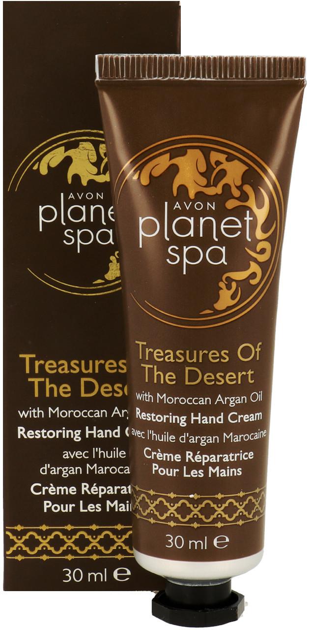 Avon Planet Spa Restoring Hand Cream Regenerująco-Odżywczy Krem Do Rąk Z Marokańskim Olejkiem Arganowym 30ml