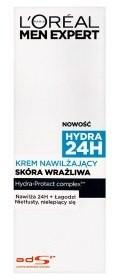 L'Oreal Paris Men Expert Hydra 24H Krem nawilżający skóra wrażliwa 75 ml