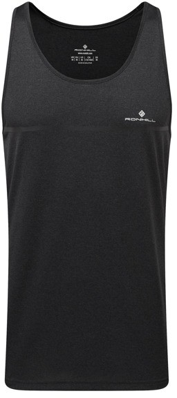 RONHILL RONHILL koszulka męska do biegania bez rękawów EVERYDAY VEST czarna