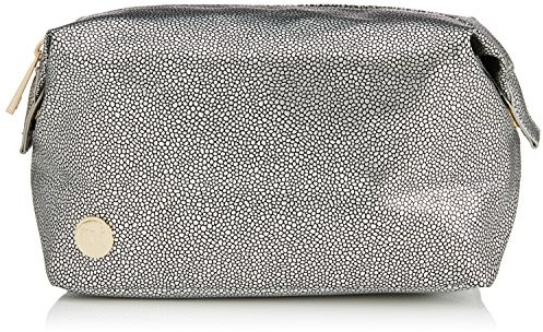 Mi-Pac złoty Wash torba damska, kolor: bunt - Pebbled Silver/Black Mi740811-018