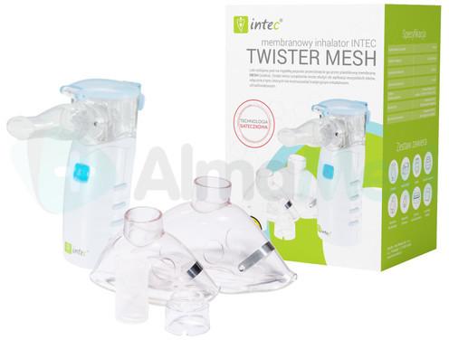 Intec Inhalator Membranowy Siateczkowy Twister Mesh >DARMOWA DOSTAWA<