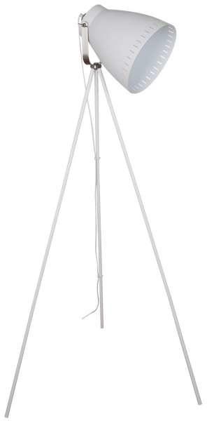 Italux Sztalugowa LAMPA podłogowa FRANKLIN ML-HN3068-B+RC industrialna OPRAWA stojąca na trójnogu reflektor loft czarny ML-HN3068-B+RC