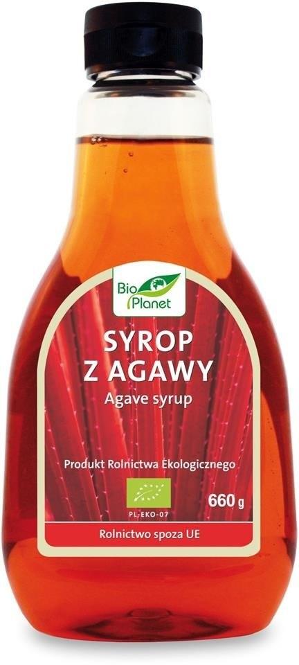 Bio Planet seria CZERWONA SYROP Z AGAWY BIO 660 g 478 ml) bioplanet-5907814660329
