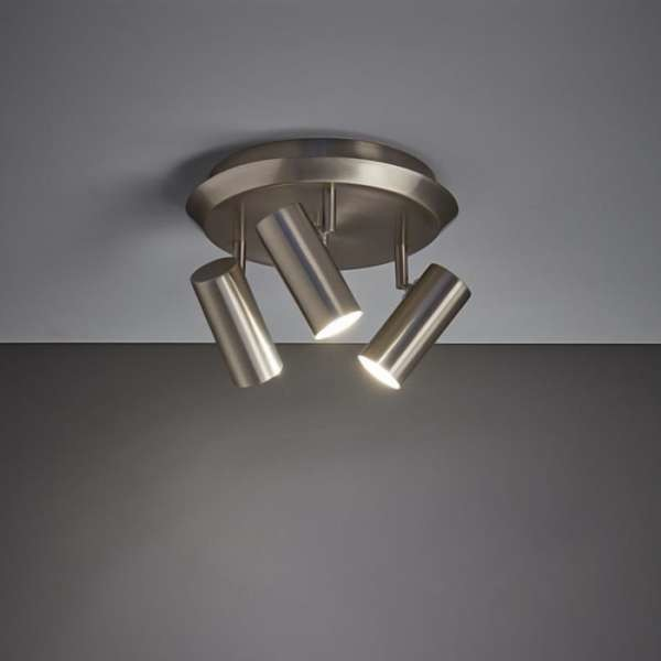 Markslojd Plafon LAMPA sufitowa BARCELONA 107350 natynkowa OPRAWA okrągła metalowe reflektorki tuby stalowe 107350