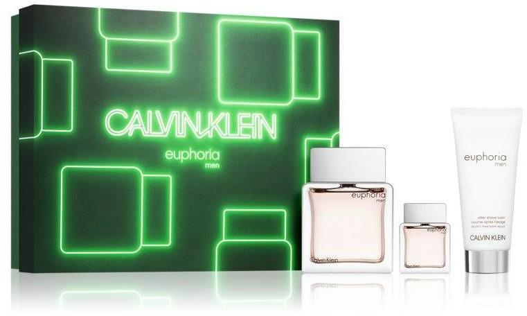 Calvin Klein Euphoria EDT 100ml + EDT 15ml + ASB 100ml 92919-uniw