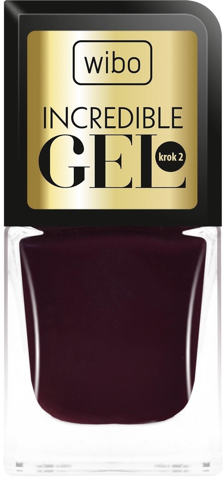 WIBO Incredible Gel żelowy lakier do paznokci 1 8.5ml