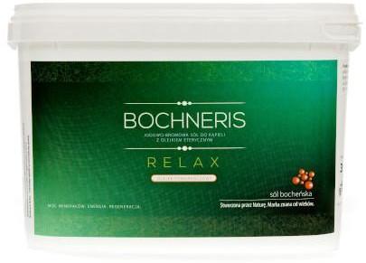 Bochneris Sp. z o.o. Relax sól jodowo-bromowa z olejkiem pomarańczowym 3 kg 1145675