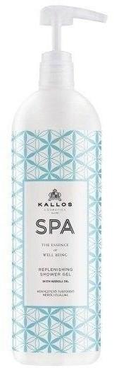 Kallos SPA Replenishing Shower Gel żel pod prysznic z olejkiem Neroli 1000 ml 1 l | SZYBKA WYSYŁKA!