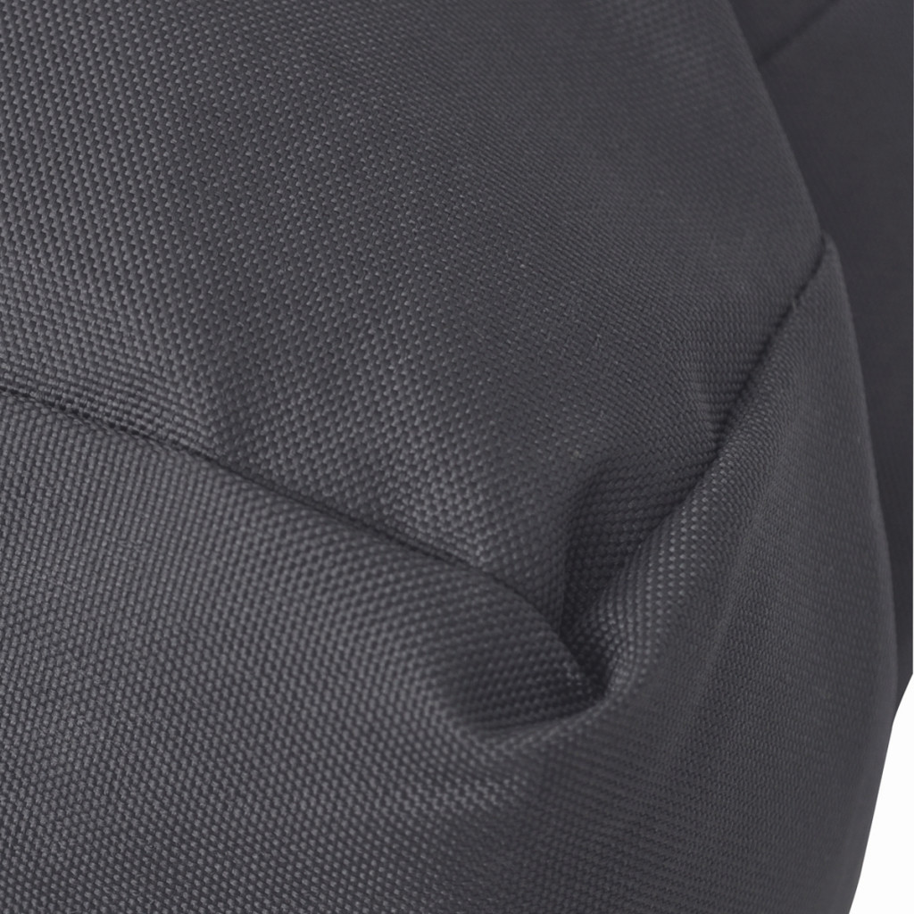vidaXL vidaXL Wyściełana poduszka na siedzenie 50x10 cm szara