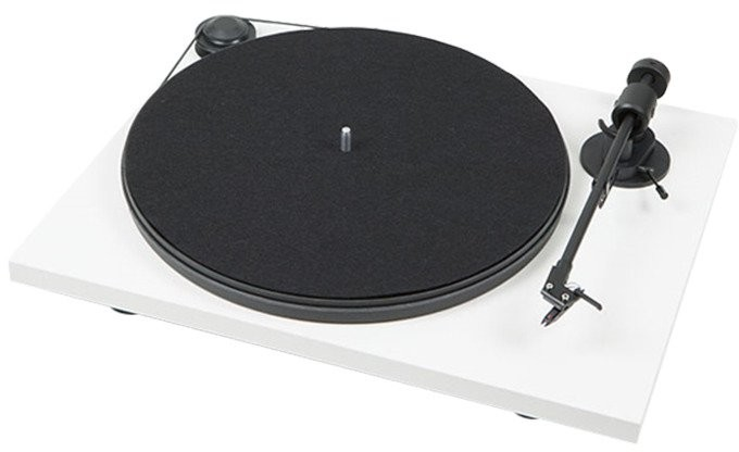 Pro-Ject Juke Box E OM5E Biały  All-in-One z Bluetooth