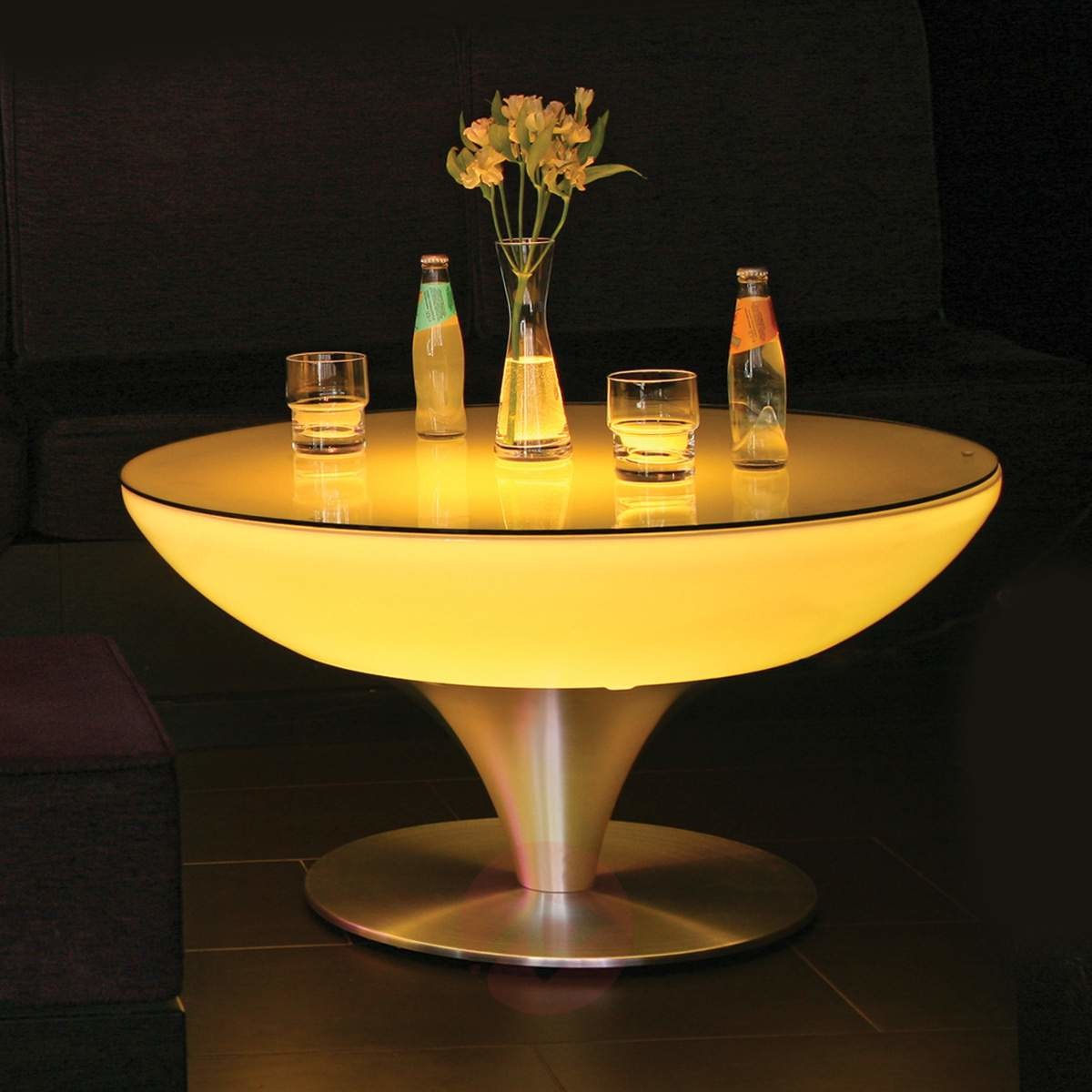 Moree Okrągły stół świecący LOUNGE, wysokość 45 cm