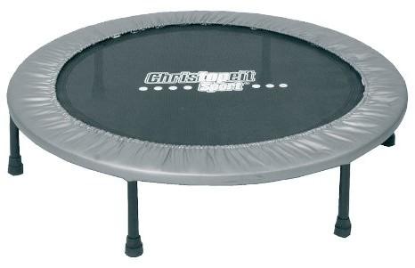 Christopeit trampoliny 96 cm, czarna, srebrna, 100 9851