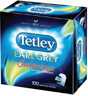 Tetley Herbata Intensive Black /100szt/