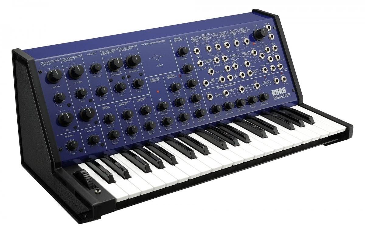 Korg MS-20 FS Blue syntezator analogowy
