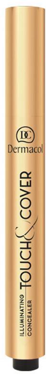 Dermacol TOUCH & COVER - Illuminating Concealer - Rozświetlający korektor w pisaku - 03 DERCCKPI-WPI-02