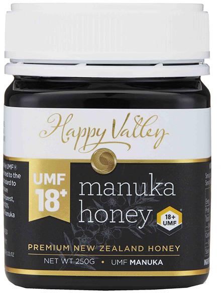 Happy Valley Miód Manuka UMF 18+ (250g) Happy Valley 9400554002986