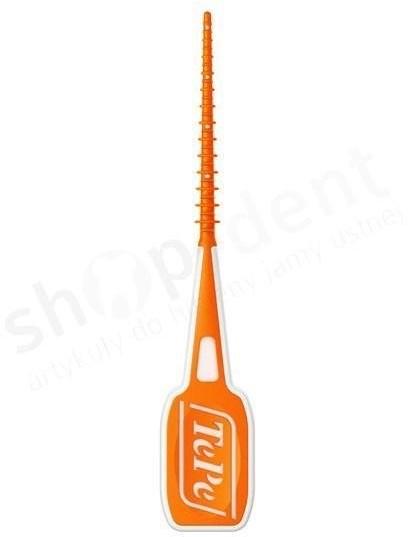 TePe TePe Easy Pick XS/S (pomarańczowe) - wąskie wykałaczki do czyszczenia przestrzeni międzyzębowych z etui - 36 sztuk