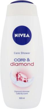 Nivea Care & Diamond żel pod prysznic 500 ml dla kobiet
