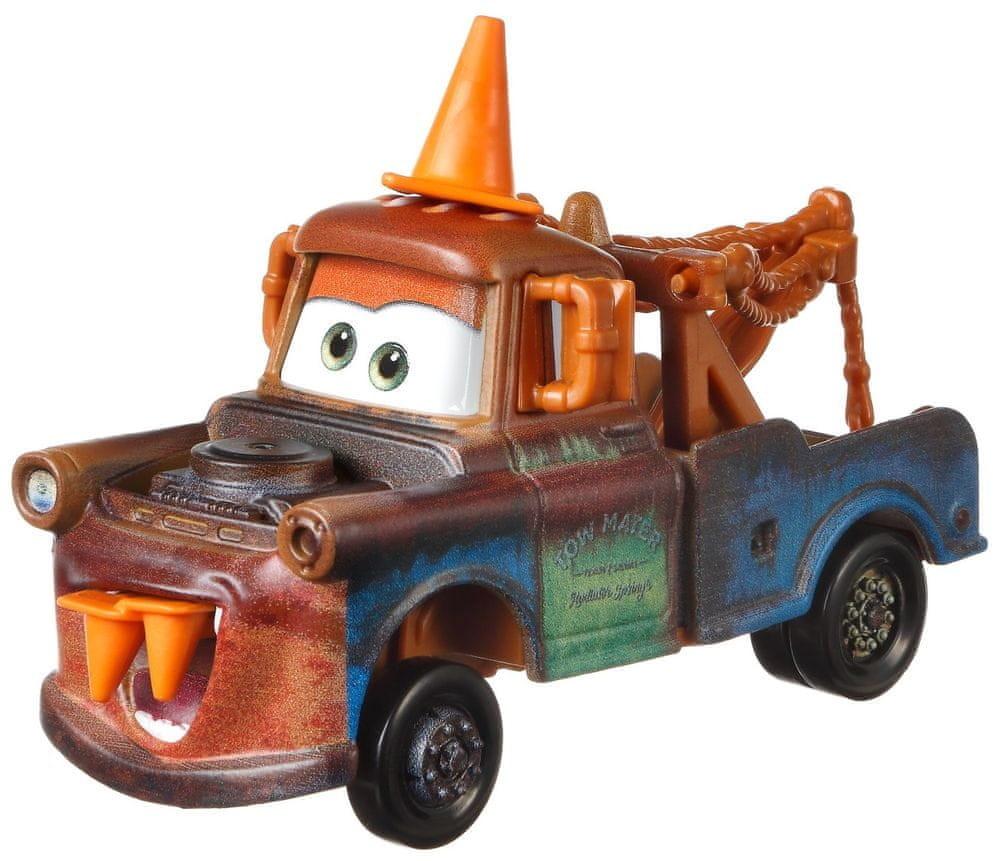 Mattel samochód duży Auta 3 Złomek z pachołkiem drogowym # z wartością produktów powyżej 89zł!