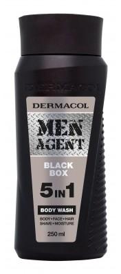 Dermacol Men Agent Black Box 5in1 żel pod prysznic 250 ml dla mężczyzn