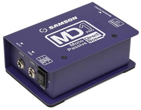 Samson MD 1 PRO - MD1 Pro - Mono Passive Direct Box 15856