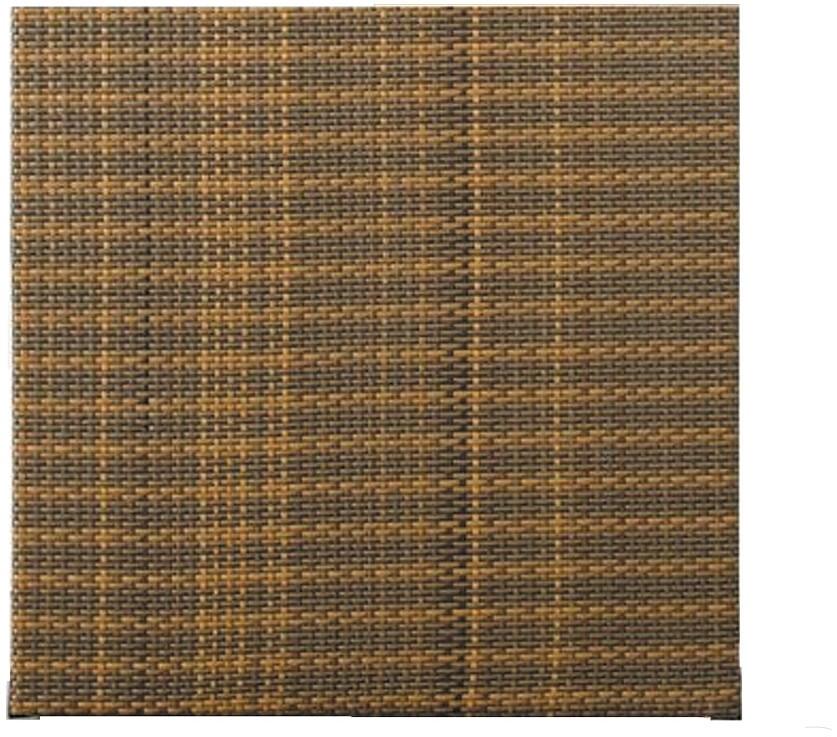 Vidaxl 1001mebli panelowe dwustronne z technorattanu (wys. 180cm, szer. 180cm). Produkt NR 0544 - Szary stalowy (RD-03) PR-SG03521-03