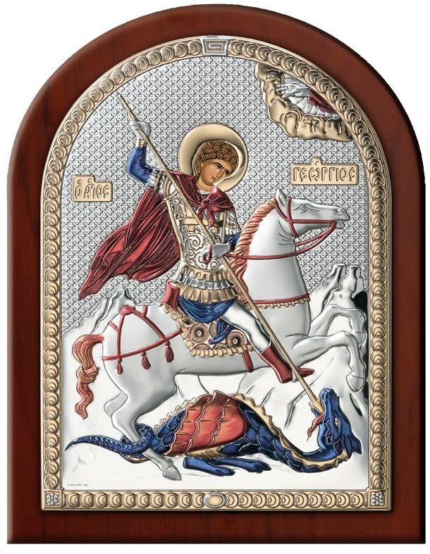 Valenti Ikona świętego Jerzego   Rozmiar: 6x8.5 cm   SKU: VL84201/1LCOL