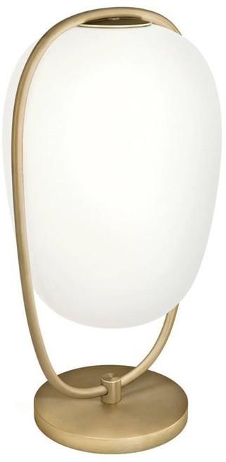 Kundalini Lanna H40 biały złoty mosiądz Kundalini lampa biurkowa k385320