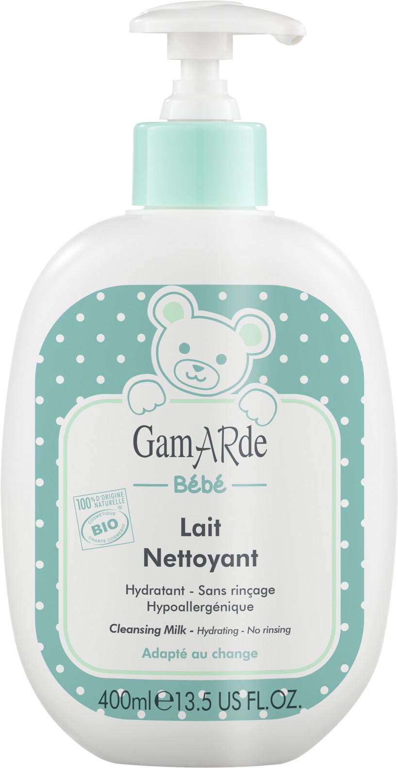 Gamarde Gamarde - Mleczko oczyszczające bez spłukiwania dla dzieci - 400 ml