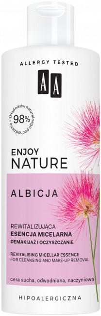 AA AA Enjoy Nature Albicja Rewitalizująca esencja micelarna demakijaż i oczyszczanie 400ml