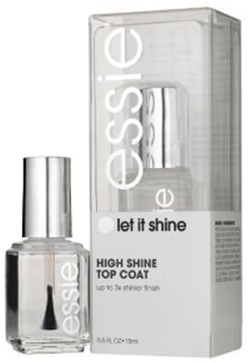 Essie Top Coat Let It Shine Lakier nawierzchniowy dający wysoki połysk 15ml