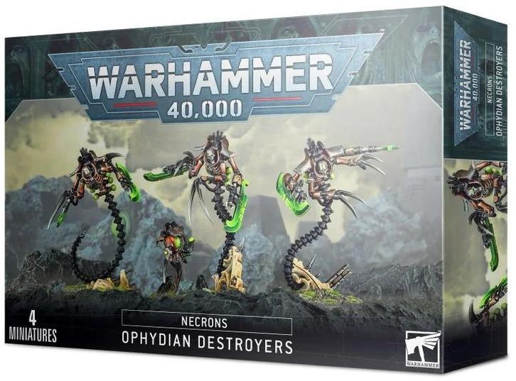 Games Workshop Necrons Ophydian Destroyers (99120110053) 49-32
