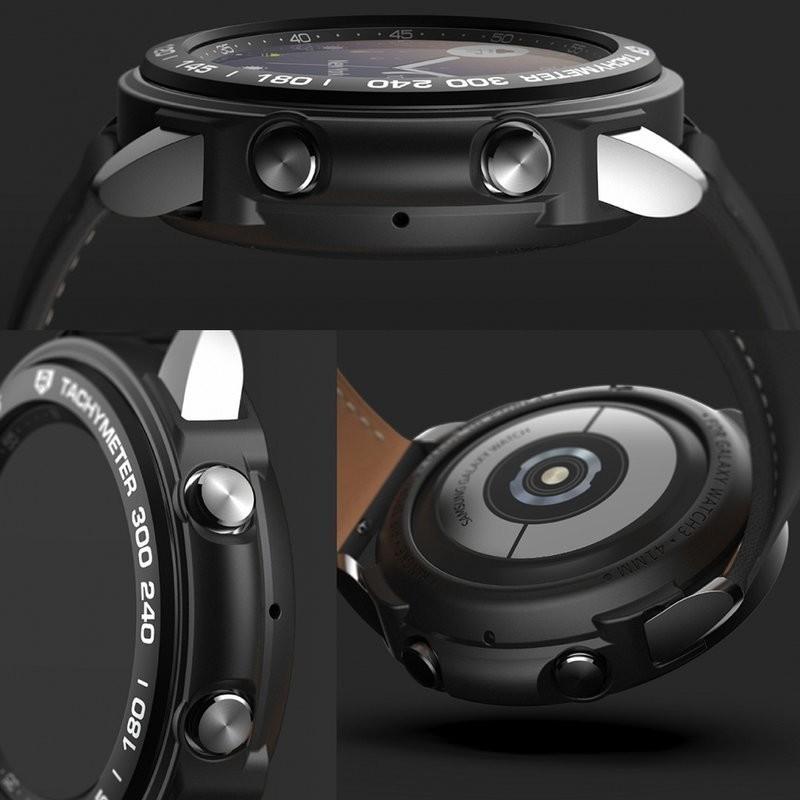 Ringke Etui i Nakładka Ringke Air & Bezel na tachymetr do Galaxy Watch 3 45mm Black 8672X1