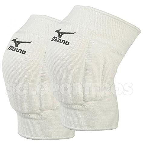 Mizuno Team ochraniacze na kolana, biały, s Z59SS70201