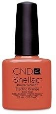 CND CND Shellac Electric Orange 3126