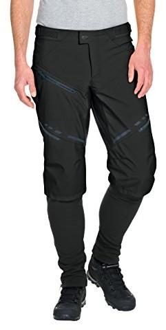 Vaude Virt Softshell Pants II męskie spodnie softshellowe, czarny, M 05723-010-Medium