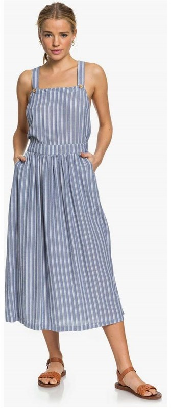 Roxy sukienka Summertranspare True Navy Birdy Stripes BPZ3)