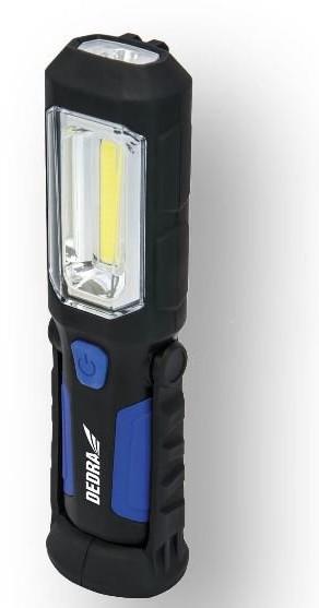 Dedra Lampa akumulatorowa COB LED 3W L1023