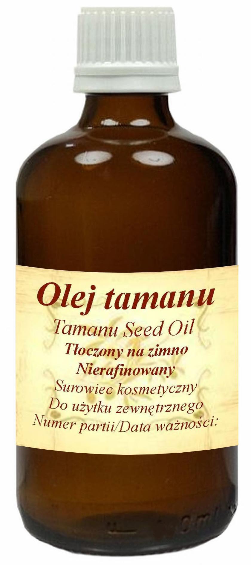 Olej Tamanu 30ml zimnotłoczony na problemy skórne
