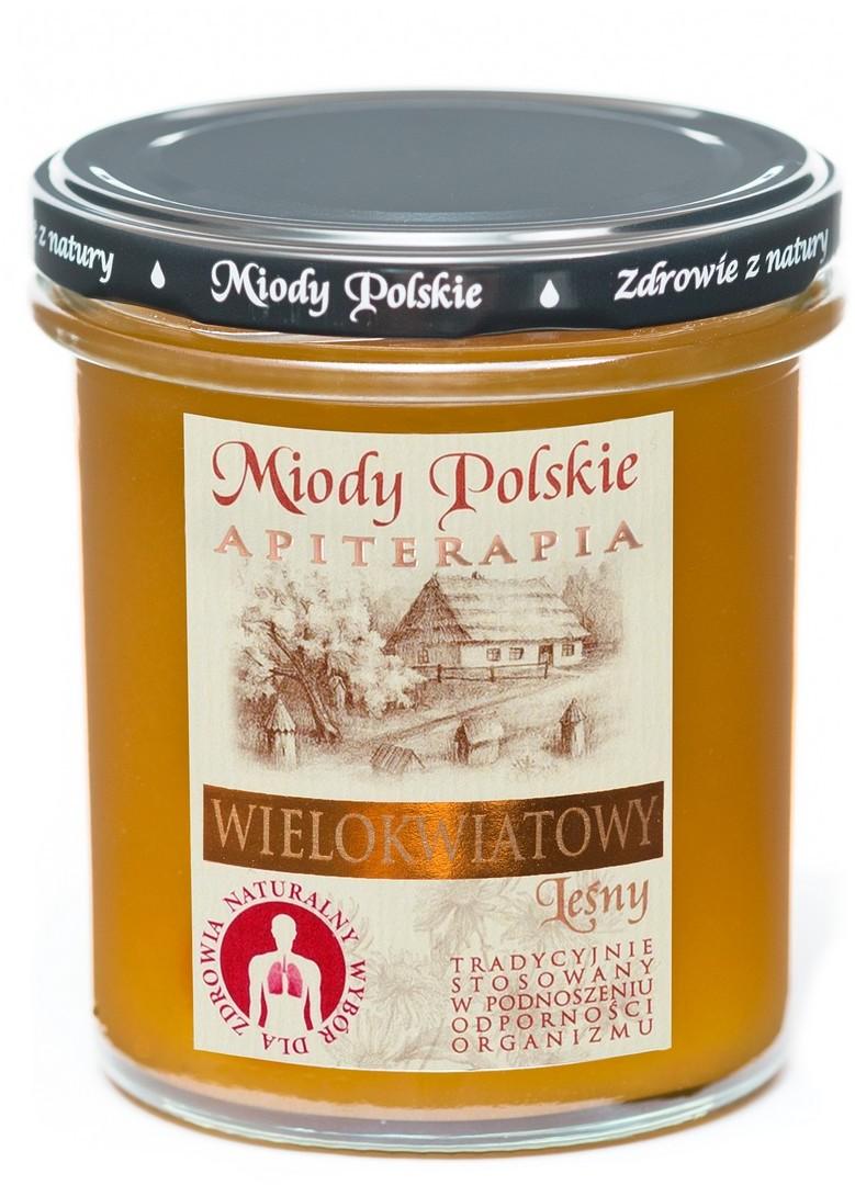 Miody Polskie Miód wielokwiatowy 400 g
