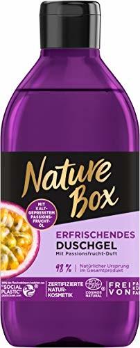 Nature Box odświeżający żel pod prysznic z marakui zapachem, 250 ml