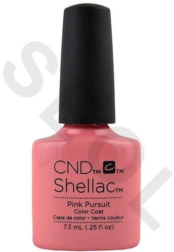 CND Shellac Pink Pursuit 7,3ml - Lakier hybrydowy do paznokci 639370911748