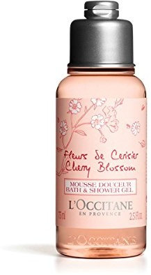 L'Occitane Żel pod prysznic 75ML kwiat wiśni