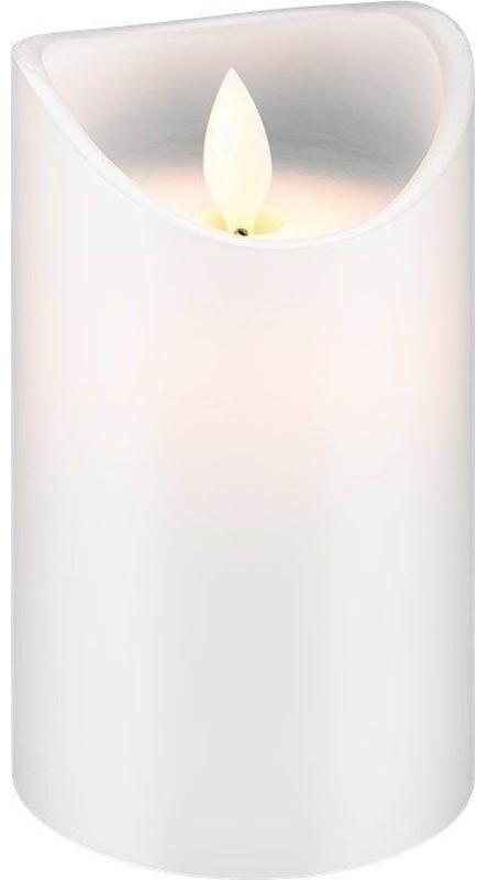 Pro Pro LED white real wax candle 7.5 x 12.5cm 4040849665202