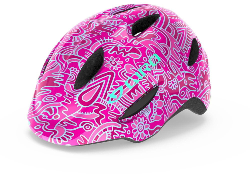 Giro Scamp Pink Flower Land S