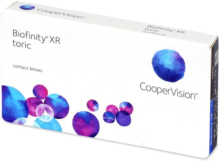 CooperVision Biofinity XR Toric 3 szt.