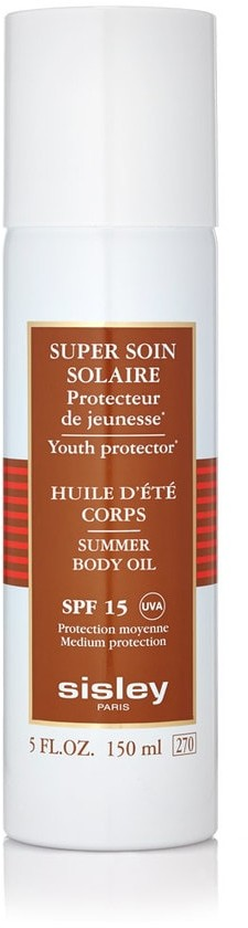 Sisley Super Soin Solaire Youth protector Body Oil SPF 15 Olejek w sprayu do opa